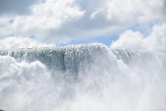 Las cataratas del Niagara en el parque