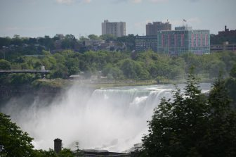Canada-Niagara-Niagara Falls-buildings-surrounding environment