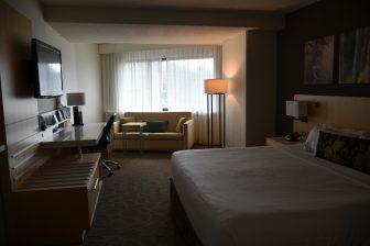 Canada-Quebec City-Delta Hotel-room
