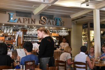 Canada-Quebec City-Le Lapin Saute-inside-people