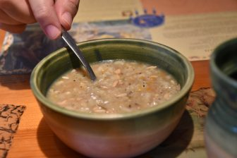 Canada-Quebec-Wendake-Onhoüa-Chetel8e-ristorante-zuppa