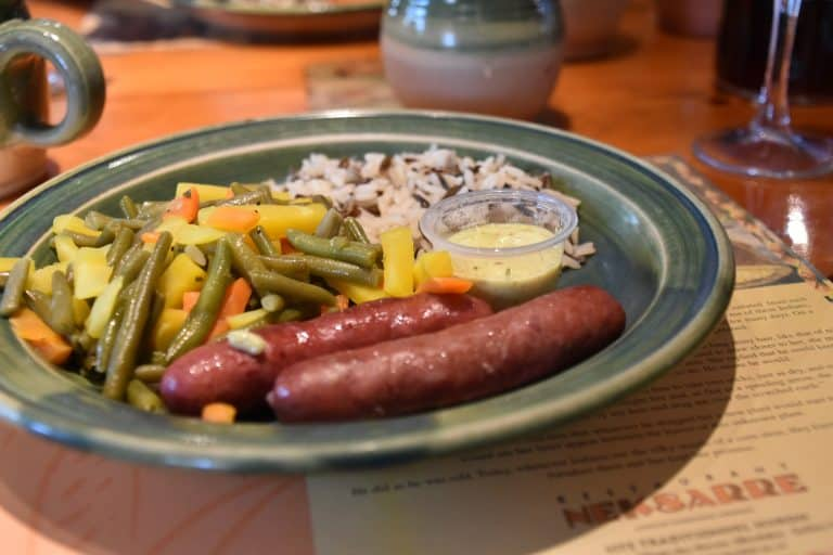 La salsiccia di Bisonte che ho mangiato nel villaggio Wendake