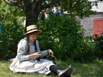 visiting places associated with 'Anne of Green Gables'