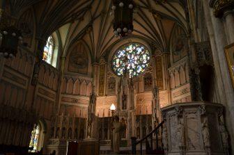 Canada-Prince Edward Island-St Dunstan's Basilica Cathedral-inside