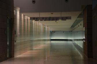 Canada-Montreal-the underground city-empty-futuristic