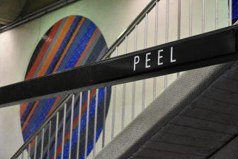 Canada-Montreal-Peel Station-metro