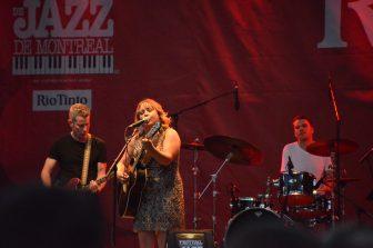 El famoso Montreal Jazz Festival