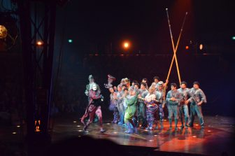 seeing Cirque du Soleil in their place of origin