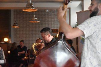 Canada-Halifax-Obladee a Wine Bar-jazz-band-playing
