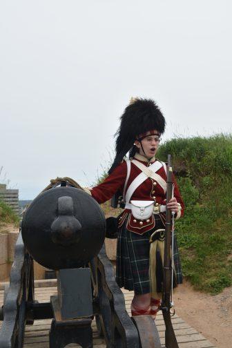 Canada-Halifax-Citadel-guida-donna-cannone
