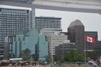 Canada-Halifax-city-view-flag