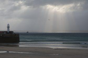 desde St Ives hacia Dartmoor