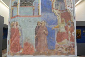 Italy-Umbria-Assisi-Basilica of San Francesco-museum-Giotto-replica