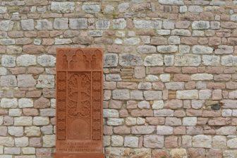 Italia-Umbria-Basilica-San-Francesco-Khachkar