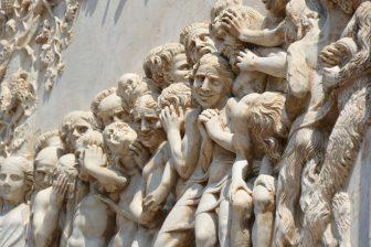 Italy-Umbria-Orvieto-cathedral-facade-sculpture
