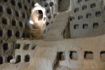 Italy-Umbria-Orvieto-underground-pigeon holes