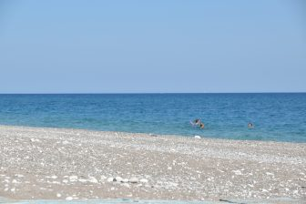 Greece-Rhodes-Afandou beach-sea-people