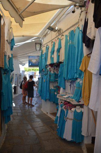 ギリシャ ロドス島 リンドス 路地 土産物屋