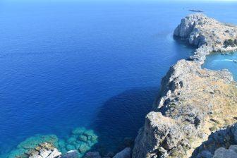 Il mare a gli asini di Lindos