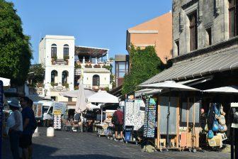 Greece-Rhodes-Rhodes Town-old town-shops