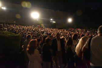 ギリシャ ロードス島 ロードス・タウン 野外劇場 群衆