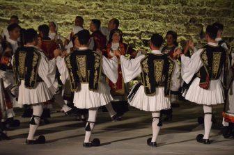 ギリシャ ロードス島 ロードス・タウン 野外劇場 ダンス アテネの衛兵