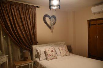Grecia-Rodi-Athina Boutique House-camera da letto