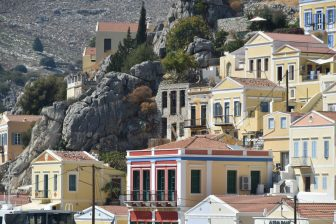 lovely view of Gialos port