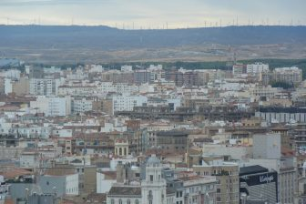 Spagna-Saragozza-panorama-turbine