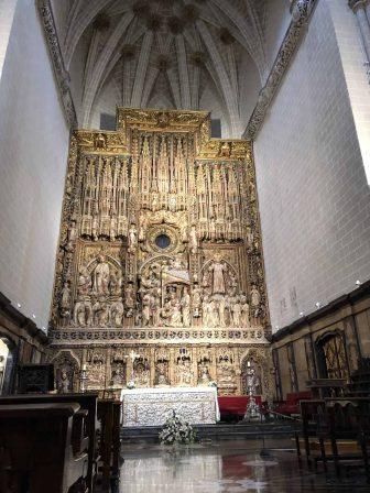 スペイン サラゴサ サン・サルバドール大聖堂 主祭壇