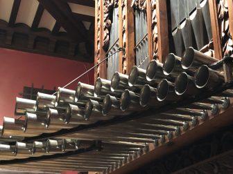 Spain-Zaragoza-Patio de la Infanta-pipe organ