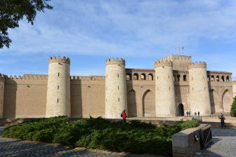 スペイン サラゴサ アルハフェリア宮殿 外観