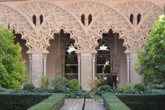 gorgeous Aljaferia Palace in Zaragoza