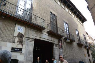 Spagna-Saragozza-Goya-Museo-esterno