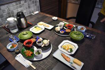 日本 九州 大分県 別府 鉄輪温泉 山水館 朝食