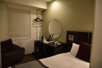 Japan-Kyushu-Fukuoka-hotel-Hotel Active Hakata-bedroom