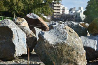 Giappone-Kyushu-Kumamoto-castello-pietre-muro
