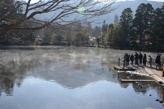 由布院の金鱗湖