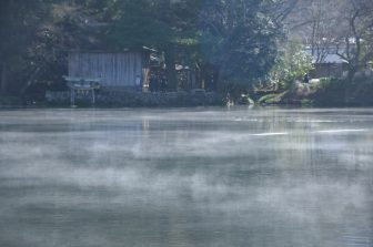 Giappone-Kyushu-Oita-Yufuin-Kinrinko-lago