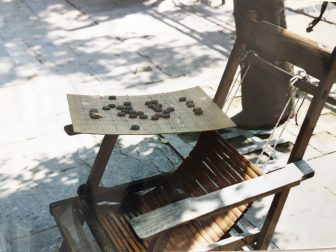 China-Guilin-pavement-chair-board game