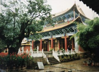 the people with us in Kunming city tour