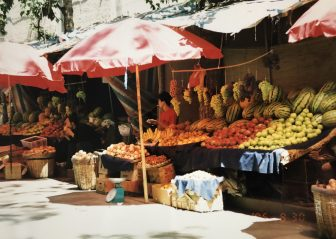 China-Lanzhou-Farmers Lane-fruit shop