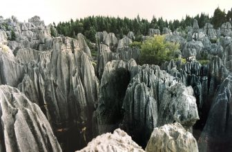 China-Shilin-Stone Forest-view