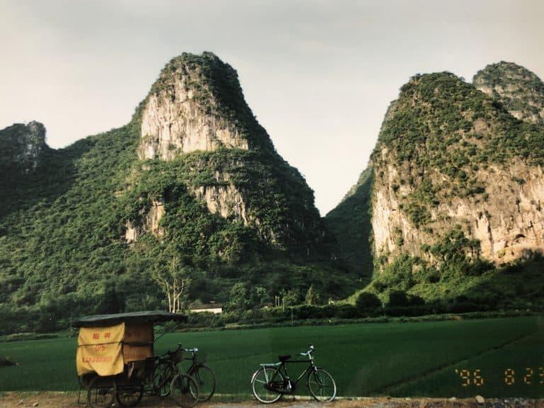 En bicicleta por Yangshuo