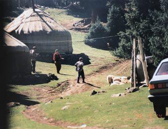 the Yurt at Heavenly Lake
