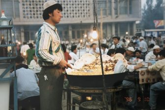 China-Turpan-food market-chef-people
