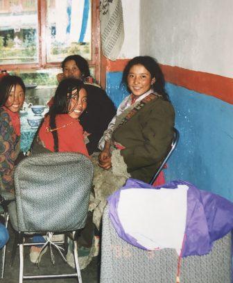 Xiahe-China-Mujeres