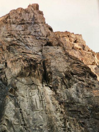 Pakistan-Gilgit-Kargah Buddha