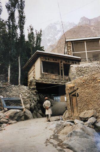 Pakistan-Karimabad-casa di montagna