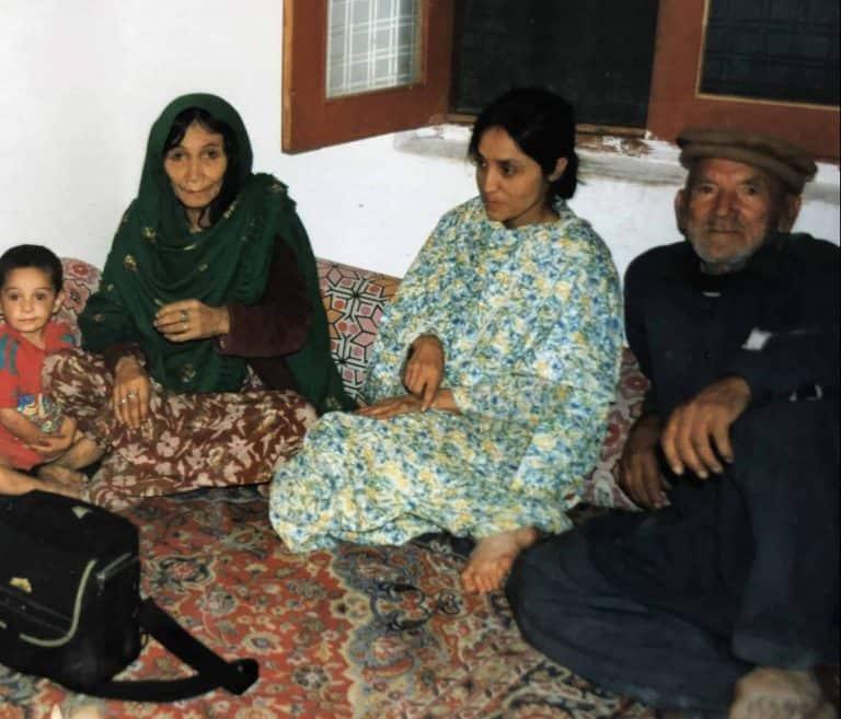 Ospiti di una famiglia a Karimabad